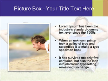 Fitness couple PowerPoint Template - Slide 13