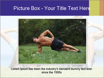 Fitness couple PowerPoint Template - Slide 15