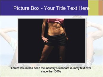 Fitness couple PowerPoint Template - Slide 16