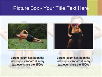Fitness couple PowerPoint Template - Slide 18