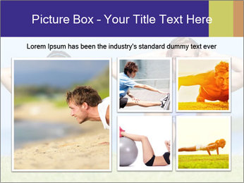 Fitness couple PowerPoint Template - Slide 19