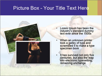Fitness couple PowerPoint Template - Slide 20