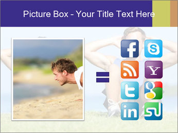 Fitness couple PowerPoint Template - Slide 21