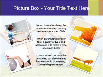 Fitness couple PowerPoint Template - Slide 24
