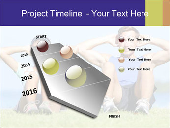 Fitness couple PowerPoint Template - Slide 26