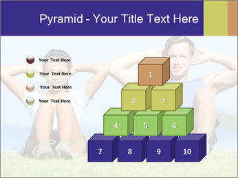 Fitness couple PowerPoint Template - Slide 31
