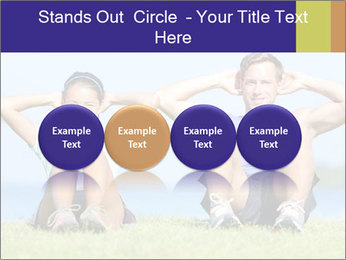 Fitness couple PowerPoint Template - Slide 76