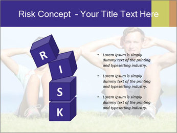 Fitness couple PowerPoint Template - Slide 81