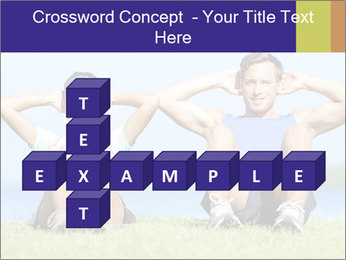 Fitness couple PowerPoint Template - Slide 82