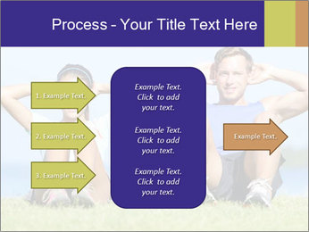 Fitness couple PowerPoint Template - Slide 85