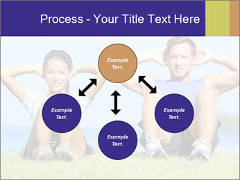 Fitness couple PowerPoint Template - Slide 91