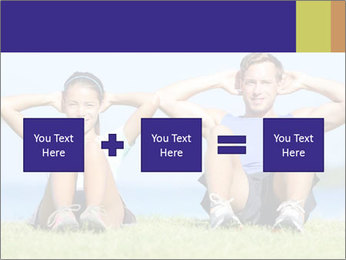 Fitness couple PowerPoint Template - Slide 95
