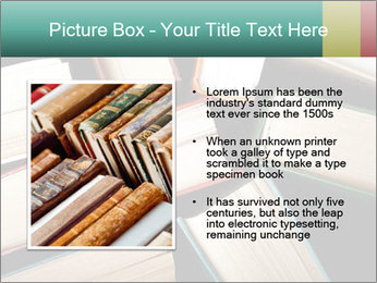 Old and used hardback books PowerPoint Templates - Slide 13