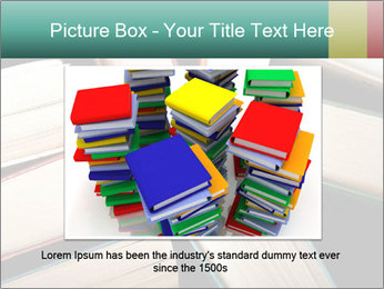 Old and used hardback books PowerPoint Templates - Slide 15