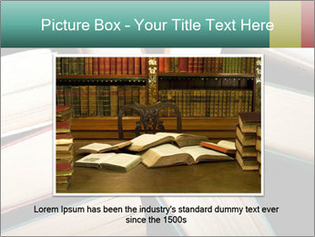 Old and used hardback books PowerPoint Templates - Slide 16