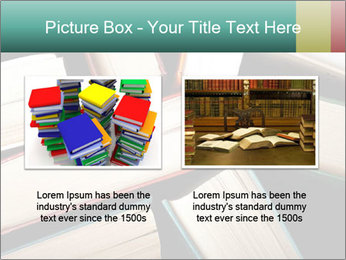 Old and used hardback books PowerPoint Templates - Slide 18