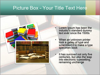 Old and used hardback books PowerPoint Templates - Slide 20