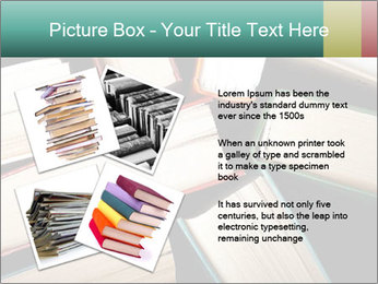 Old and used hardback books PowerPoint Templates - Slide 23
