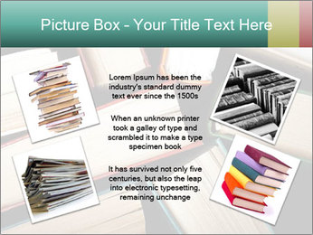Old and used hardback books PowerPoint Templates - Slide 24