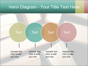 Old and used hardback books PowerPoint Templates - Slide 32