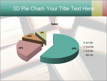 Old and used hardback books PowerPoint Templates - Slide 35