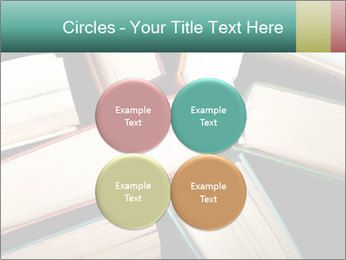 Old and used hardback books PowerPoint Templates - Slide 38