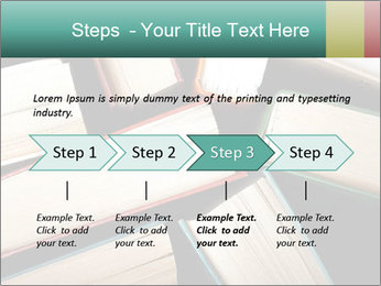Old and used hardback books PowerPoint Templates - Slide 4