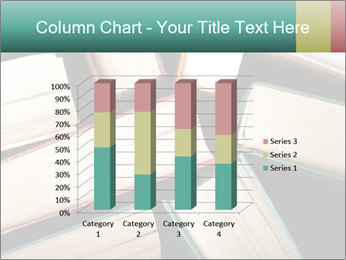 Old and used hardback books PowerPoint Templates - Slide 50