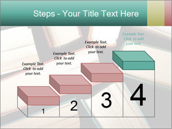 Old and used hardback books PowerPoint Templates - Slide 64