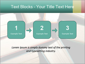 Old and used hardback books PowerPoint Templates - Slide 71