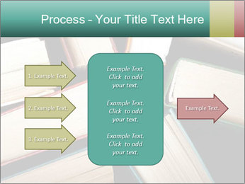 Old and used hardback books PowerPoint Templates - Slide 85