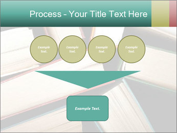 Old and used hardback books PowerPoint Templates - Slide 93