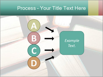 Old and used hardback books PowerPoint Templates - Slide 94