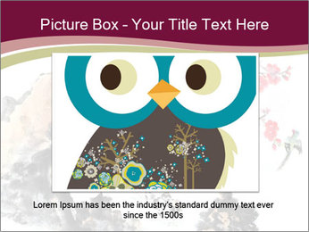 Bird and insects PowerPoint Templates - Slide 16