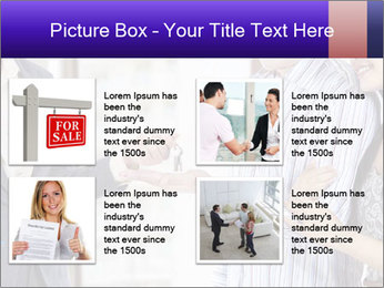 Couple receives a key PowerPoint Template - Slide 14