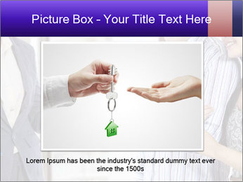 Couple receives a key PowerPoint Template - Slide 15