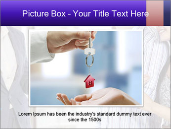 Couple receives a key PowerPoint Template - Slide 16