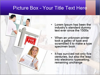 Couple receives a key PowerPoint Template - Slide 17
