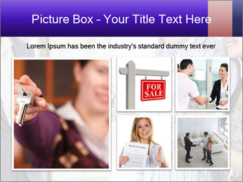 Couple receives a key PowerPoint Template - Slide 19