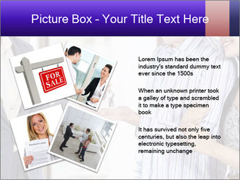 Couple receives a key PowerPoint Template - Slide 23
