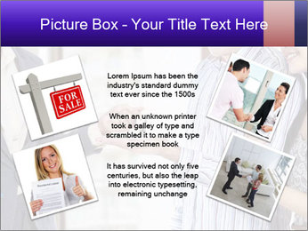 Couple receives a key PowerPoint Template - Slide 24