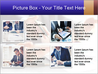 Two young businessmen PowerPoint Template - Slide 14