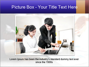 Two young businessmen PowerPoint Template - Slide 16