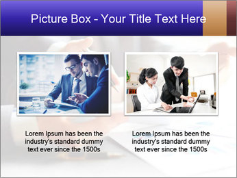 Two young businessmen PowerPoint Template - Slide 18