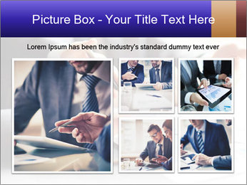 Two young businessmen PowerPoint Template - Slide 19