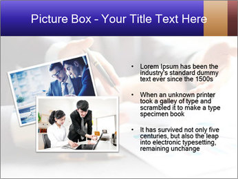 Two young businessmen PowerPoint Template - Slide 20