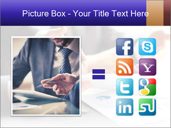 Two young businessmen PowerPoint Template - Slide 21