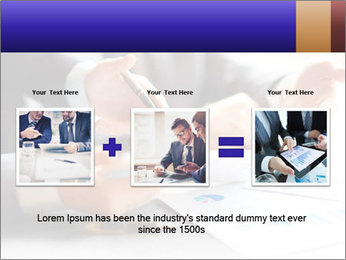 Two young businessmen PowerPoint Template - Slide 22