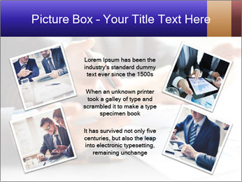 Two young businessmen PowerPoint Template - Slide 24
