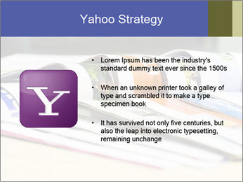 Magazine spread in the office PowerPoint Template - Slide 11